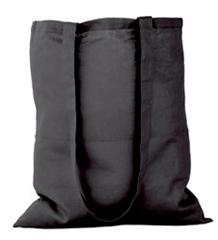 Vrečka bombažna Gisee, črna