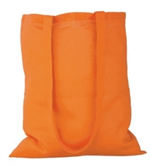 Vrečka bombažna Gisee, oranžna