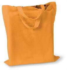 Vrečka bombažna Basic Short, oranžna