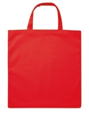 Vrečka bombažna Basic Short, rdeča