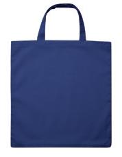 Vrečka bombažna Basic Short, modra