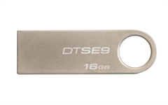 USB ključ Kingston DTSE9, 16 GB, šampanjec