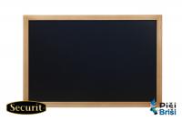 Tabla za kredo Securit, 60 x 80 cm, črna