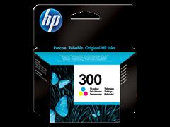 Poškodovana embalaža: kartuša HP CC643EE nr.300 (barvna), original
