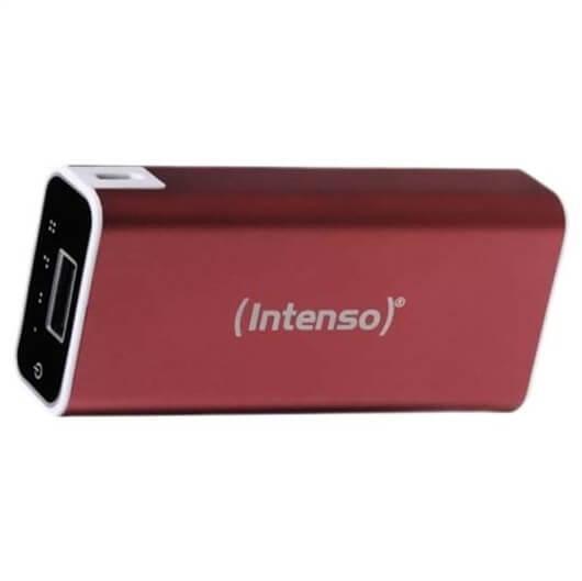 Prenosni polnilec Intenso A5200 (power bank) ALU, rdeča, 5.200 mAh