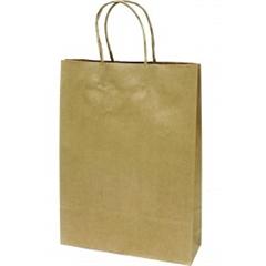 Darilna vrečka, srednja, zlata