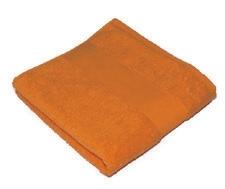 Brisača Classic 50 x 100 cm, 450 gramov, oranžna