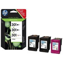 Komplet kartuš HP E5Y87EE (2 x nr.301 BK + nr.301 CMY), original