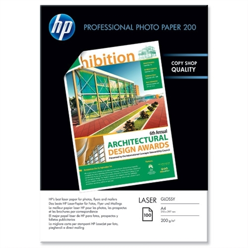 Foto papir HP CG966A, A4, 100 listov, 200 gramov