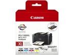 Komplet kartuš Canon PGI-1500XL (BK/C/M/Y), original +  DARILO: kalkulator