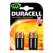 Baterija Duracell AAA-LR03, 4 kosi