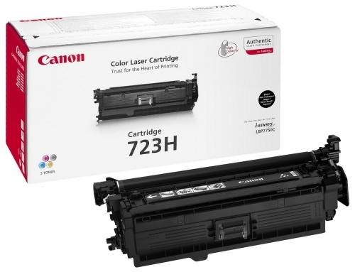 Poškodovana embalaža: toner Canon CRG-723H BK (2645B002AA) (črna), original