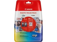 Poškodovana embalaža: komplet kartuš Canon PG-540XL + CL-541XL, original + foto papir (5222B013AA)