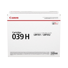 Toner Canon CRG-039H BK (0288C001AA) (črna), original