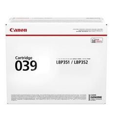 Toner Canon CRG-039 BK (0287C001AA) (črna), original
