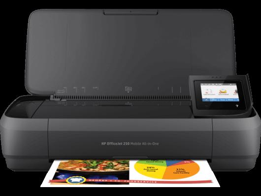 Prenosni tiskalnik HP OfficeJet 252 Mobile (N4L16C)
