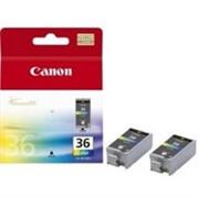 Kartuša Canon CLI-36 (barvna), dvojno pakiranje, original
