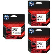 Komplet kartuš HP nr.652 (2 x BK + CMY), original