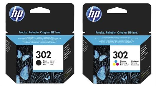 Komplet kartuš HP nr.302 (BK + CMY), original