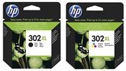 Komplet kartuš HP nr.302XL (BK + CMY), original