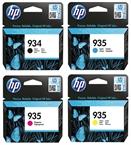 Komplet kartuš HP nr.934 (BK) + 935 (C/M/Y), original