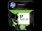 Poškodovana embalaža: kartuša HP C6657AE nr.57 (barvna), original
