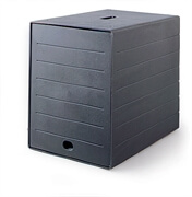 Predalnik Idealbox Plus, črna