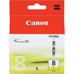 Poškodovana embalaža: kartuša Canon CLI-8Y (rumena), original