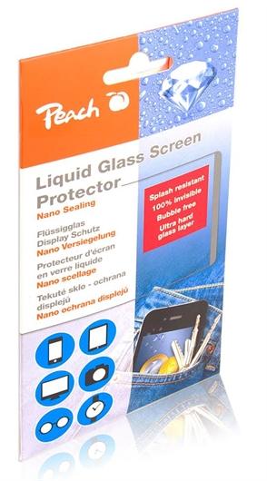 Zaščita za telefone Liquid glass screen protector Peach PA109