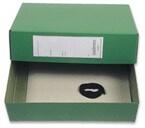 Arhivska škatla, 380 x 270 x 100 mm, zelena