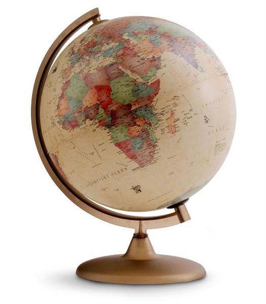 Globus Discovery, 25 cm, z lučko, angleški