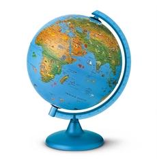 Globus Arca, 25 cm, z lučko, angleški
