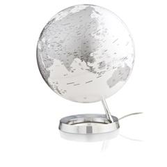 Globus Metal Chrome, 30 cm, z lučko, angleški