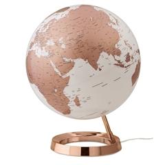 Globus Metal Copper, 30 cm, z lučko, angleški