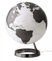 Globus Metal Charcoal, 30 cm, z lučko, angleški
