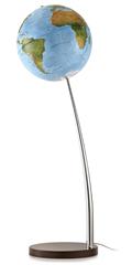 Globus Vertigo Blue, 37 cm, z lučko, angleški