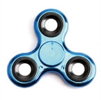 Krazy Fidget Spinner Chrome, modra