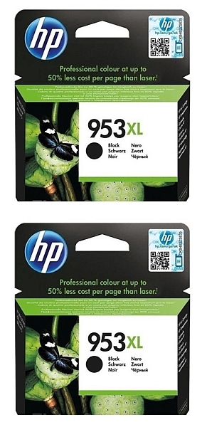 Kartuša HP L0S70AE nr.953XL (črna), dvojno pakiranje, original