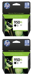 Kartuša HP CN045AE nr.950XL (črna), dvojno pakiranje, original
