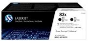 Toner HP CF283XD 83X (črna), dvojno pakiranje, original