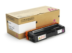 Poškodovana embalaža: toner Ricoh SPC252 (407718) HC (škrlatna), original