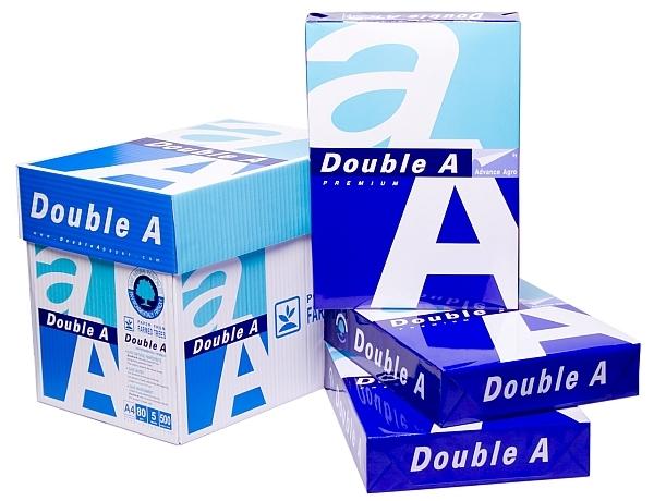 Fotokopirni papir Double A premium A4, 2.500 listov, 80 gramov