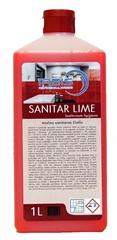 Čistilo za sanitarije Sanitar Lime (močno), 1 l