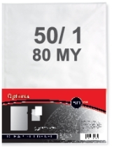 Mapa PVC L A5 80 mic, 100 kosov
