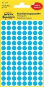 Etikete (označevalne točke) Zweckform 3011, premer 8 mm, modre