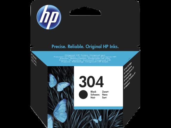 Kartuša HP N9K06AE nr.304 (črna), original