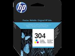 Kartuša HP N9K05AE nr.304 (barvna), original