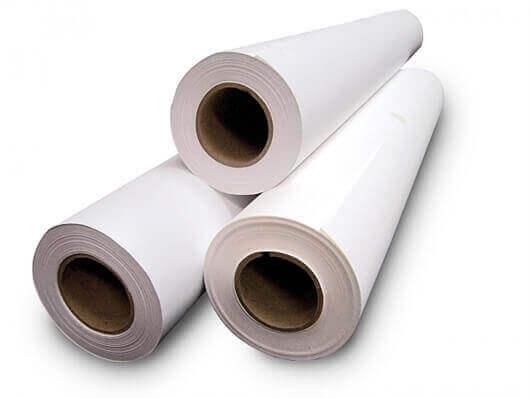 Fotokopirni papir v roli, 594 mm x 175 m, 80 g (fi-76 mm)