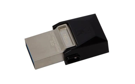 USB ključ Kingston DTDUO3, 16 GB + OTG adapter