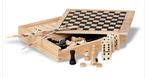 Set iger 4 v 1. V leseni škatlici Trike
